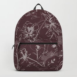Cherry Blossom Tree - Chestnut Backpack