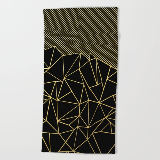 Ab Lines 45 Gold Beach Towel