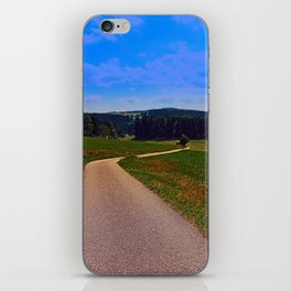 Yet another boring hiking trail picture | landscape photography iPhone Skin
