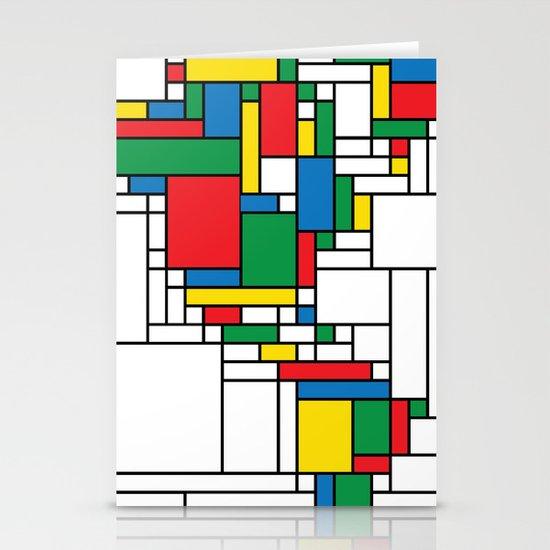 World Map - Modern Stationery Cards