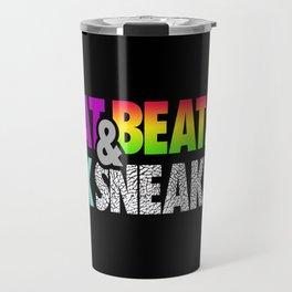 Phat Beats & Sick Sneaks Travel Mug