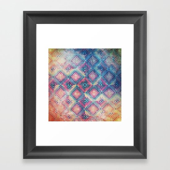 c square Framed Art Print