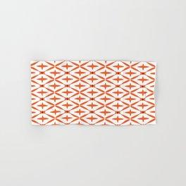 Orange Integration Pattern 1 Hand & Bath Towel