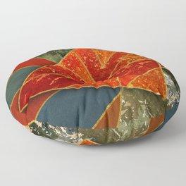 Abstract #330 Floor Pillow