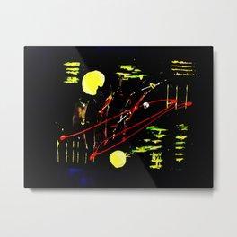 Shatzi's Moon Metal Print