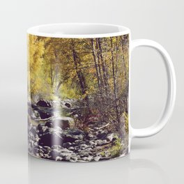 Eagle River in Avon Colorado Coffee Mug