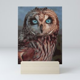 THE MAJESTY OF THE OWL Mini Art Print