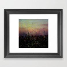City #1 Framed Art Print