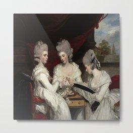 Joshua Reynolds's The Ladies Waldegrave Metal Print