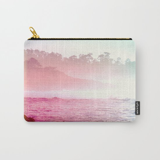 Summer on the Coast Carry-All Pouch