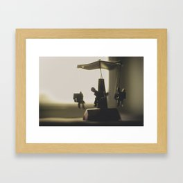 Miniature Carousal  Framed Art Print