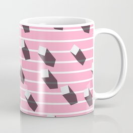 sugar cubes with long shadows Coffee Mug