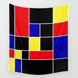 Mondrian #49 Wall Tapestry