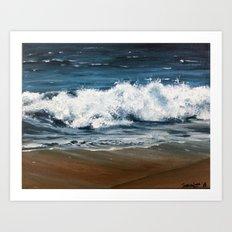 Tiny Waves Art Print
