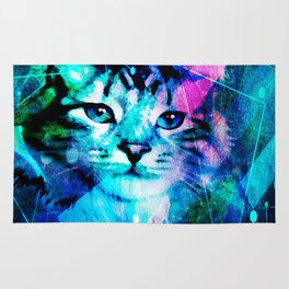Kitty Cat Laser Lights at the Aleurorave Rug