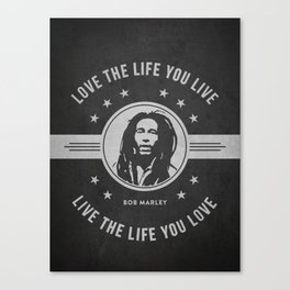 Marley - Dark Canvas Print