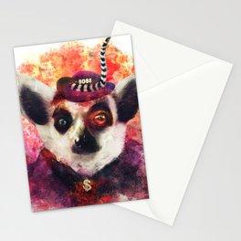 Lemur ( The Pimp Le-Mur ) Stationery Cards