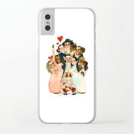 Hamilton Hug Clear iPhone Case