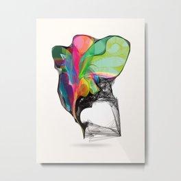 Winged Rainbow Metal Print