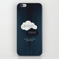 the fault iPhone & iPod Skins featuring The Fault in Our Stars by thatfandomshop