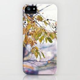 Happy Autumn Colours iPhone Case
