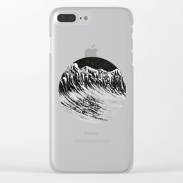 Starlit Cliffs Clear iPhone Case