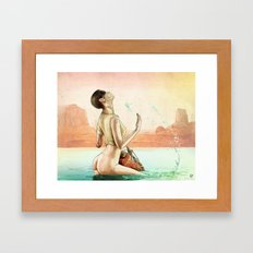 Furiosa's First Bath Framed Art Print