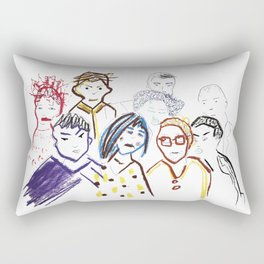 Tension in the Air Rectangular Pillow