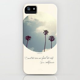 Feel The Sky iPhone Case