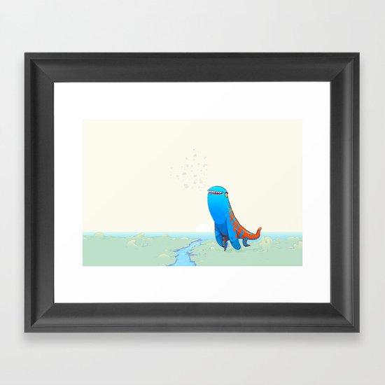 Derp Framed Art Print