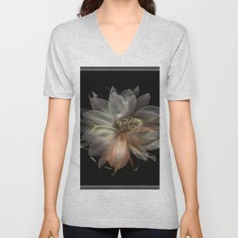 MY NITE BLOOMER... Unisex V-Neck