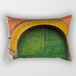 Magic Green Door in Sicily Rectangular Pillow