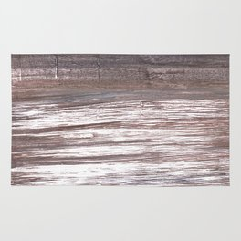 Deep Taupe abstract watercolor Rug