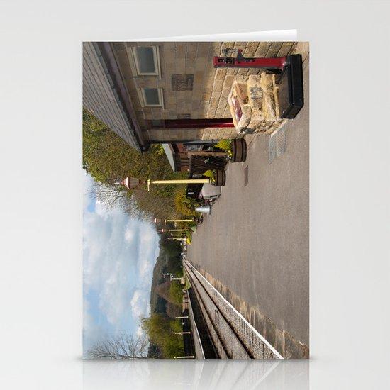 Darley Dale train platform v1 Stationery Cards