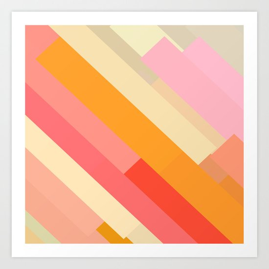 color story - sprinkles Art Print