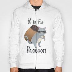 R is for Raccoon Hoody