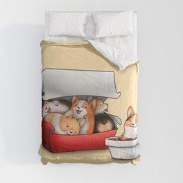 Corgi Nuggets Comforters