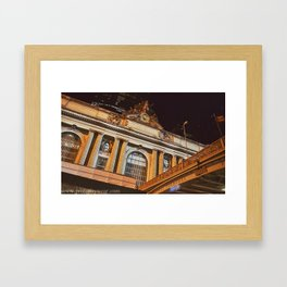 Profane Central Station Framed Art Print