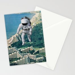 Walking on the  Stationery Cards