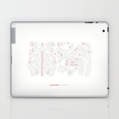 Hungarian Embroidery no.12 Laptop & iPad Skin