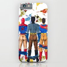 Super Hero BUTTs | It's a bird, it's a plane, it's... a booty iPhone 6s Slim Case