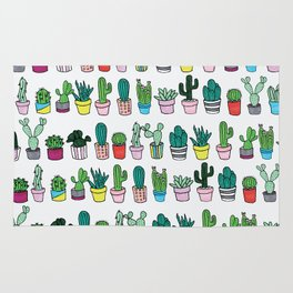 Plants in line Rug