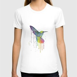 Hummingbird Watercolor T-shirt
