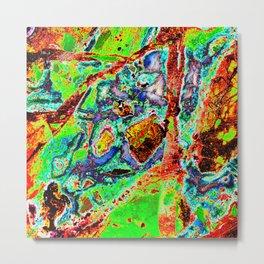 Rock Slab Abstract ~ Wild Metal Print