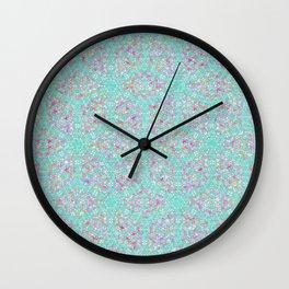 Damask Pattern Wall Clock