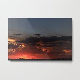 Amazing Arizona Sunsets VI Metal Print