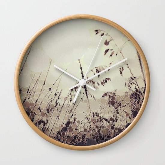 Whispers of Autumn Wall Clock