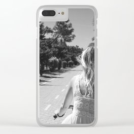 Ride or Die Clear iPhone Case