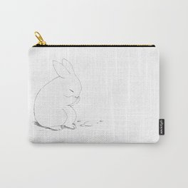 shy little bunny Carry-All Pouch