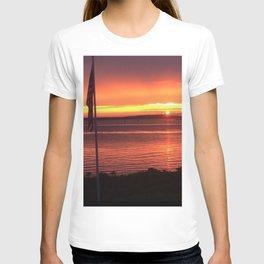 Sunset Over the Ocean T-shirt